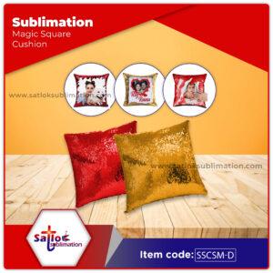 Sublimation Magic Square Cushion