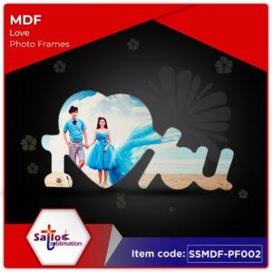MDF Photo Frames