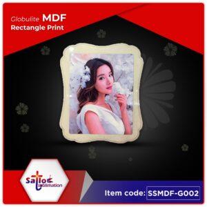 Globulite MDF Rectangle Print