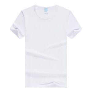Soft Polyester Short Sleeve T-shirt