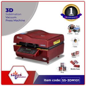 3D Sublimation Vacuum Press Machine