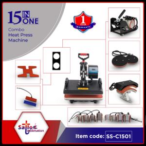 15 in 1 Sublimation heat press machine