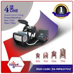 4 in 1 combo mug press machine