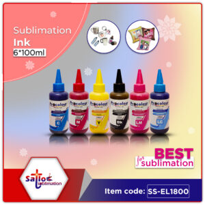 Sublimation ink 6*100ml