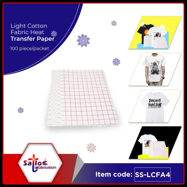 White Fabric Heat Transfer Paper