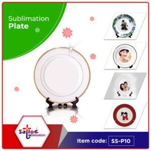 Sublimation Ceramic Plate